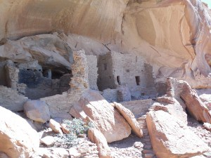 Anasazi Ruins at River House