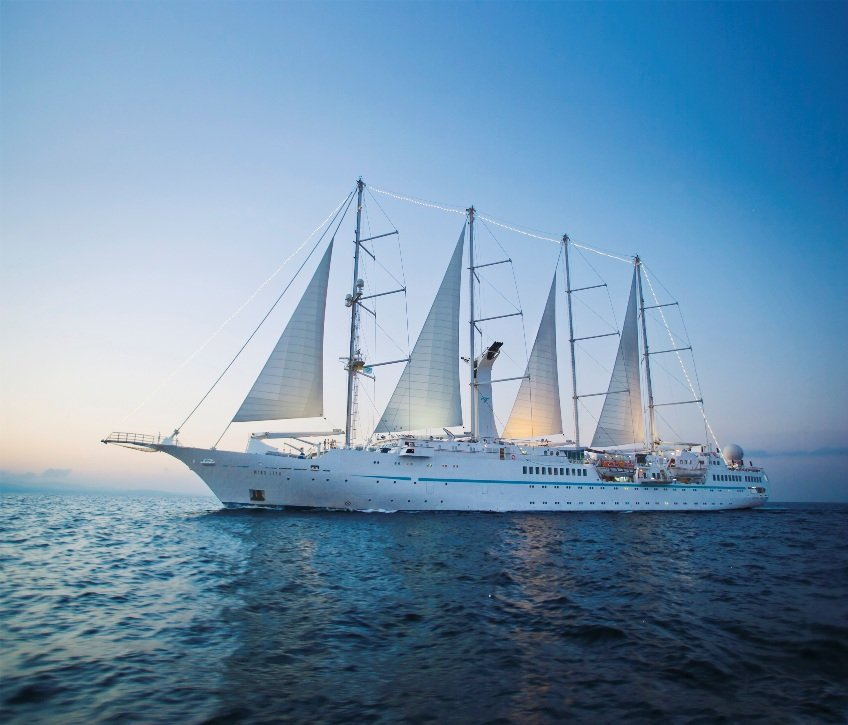 Greek Isles and Turkey by sailing ship, Wind Star