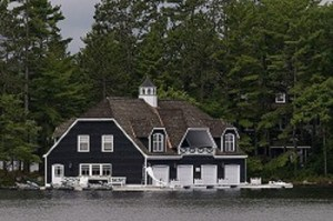 Muskoka Boat House Photo by Larry Wright