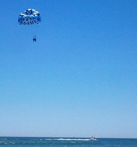 Parasailing at Stone Harbor