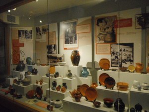 Jugtown Pottery Display