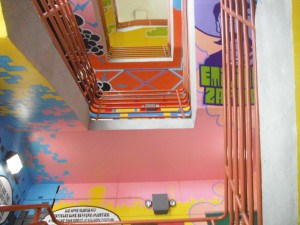 Stairwell  Public Art              by African-American Atelier  Students