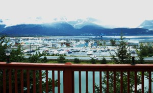 Marina in Alaska before going out fishing for salmon