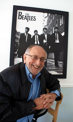 Ivor Davis and Beatles