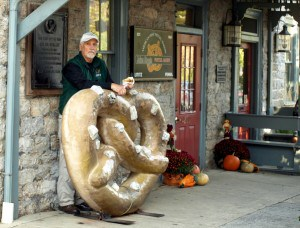 Entrance to Julius Sturgis Pretzel House