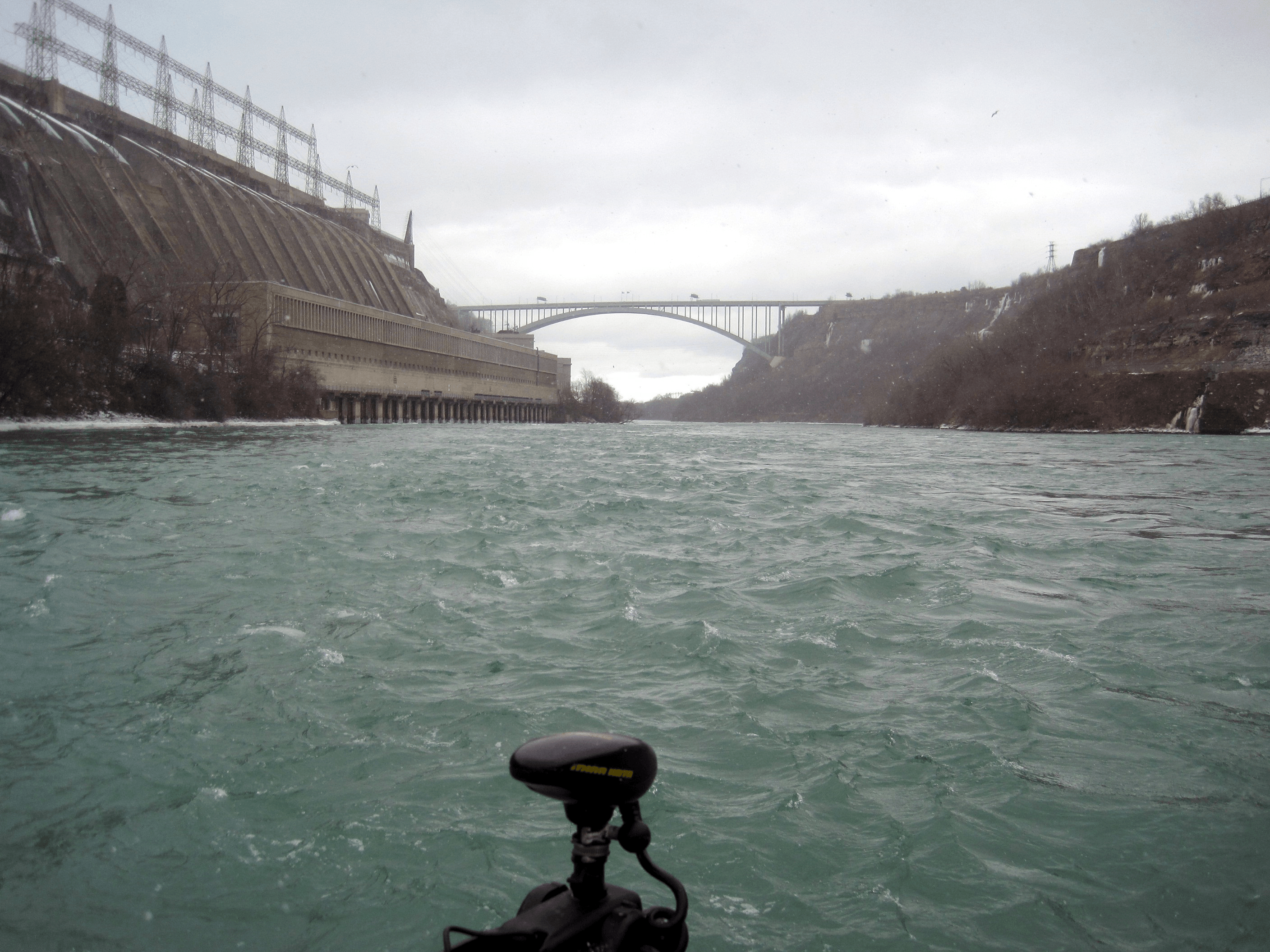 Winter Fishing On The Niagara River