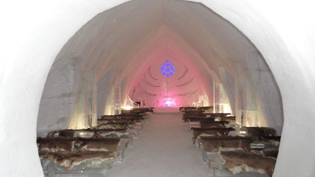 Popsicle for a Night: A Stay at Quebec City's Hotel de Glace aka ICE!