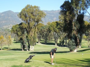 Golfing at Ojai Valley Inn