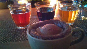 Craft Beer and dessert