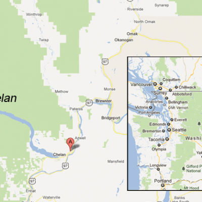 Lake Chelan, Washington State