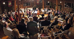 World-class musicians perform at the Garth Newel Music Center, located in a one-time barn.