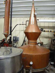 "Some"" ramp shine "" distilling equipment."