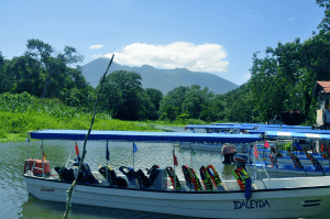 Lake Nicaragua, bordering Granada, the county's oldest city.