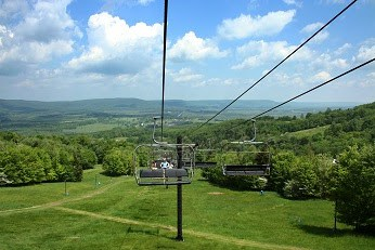 ski lift Canaan Valley