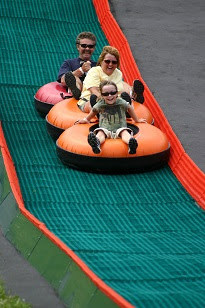 Tubing in summer Canaan Valley