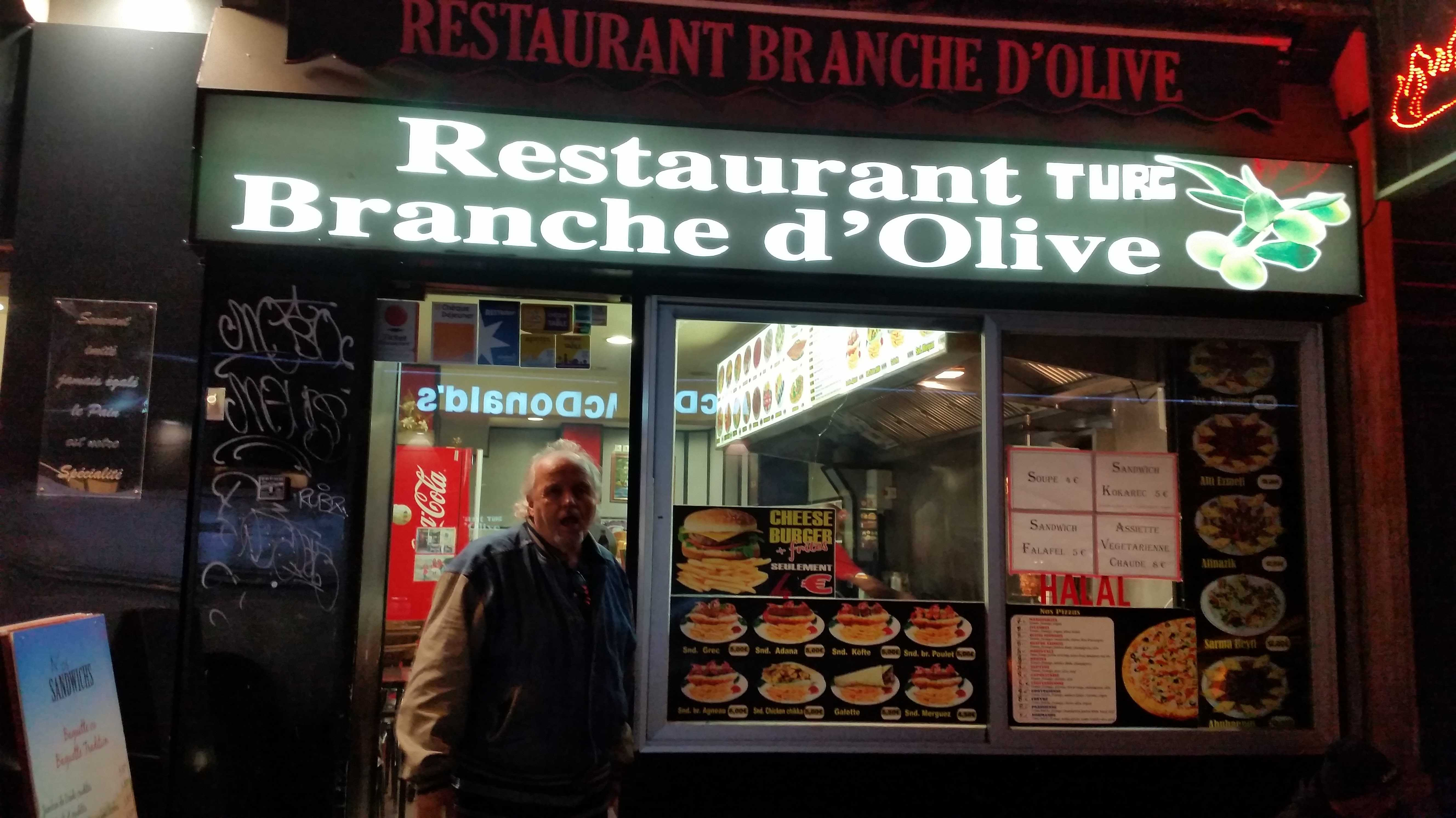 The Olive Branch in Paris