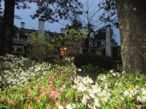 "The Historic Rose Hill Estate with massive gardens, a beautiful Inn and fine restaurant ""The Stables"" in Aiken."