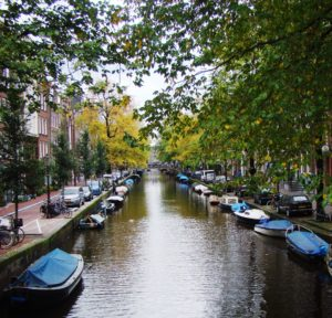 Amsterdam's beautiful Canals.