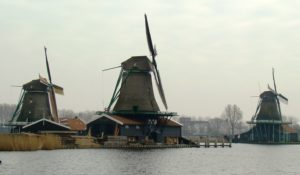 The famous Windmills of Holland found throughout the country.