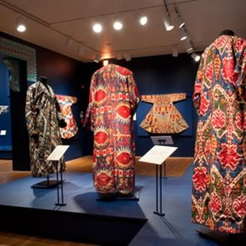 Kimonos at the Textile Museum.