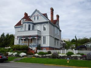Historic Port Townsend home.