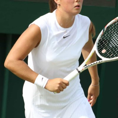 Women's Tennis Champion Daria Kasatkina.