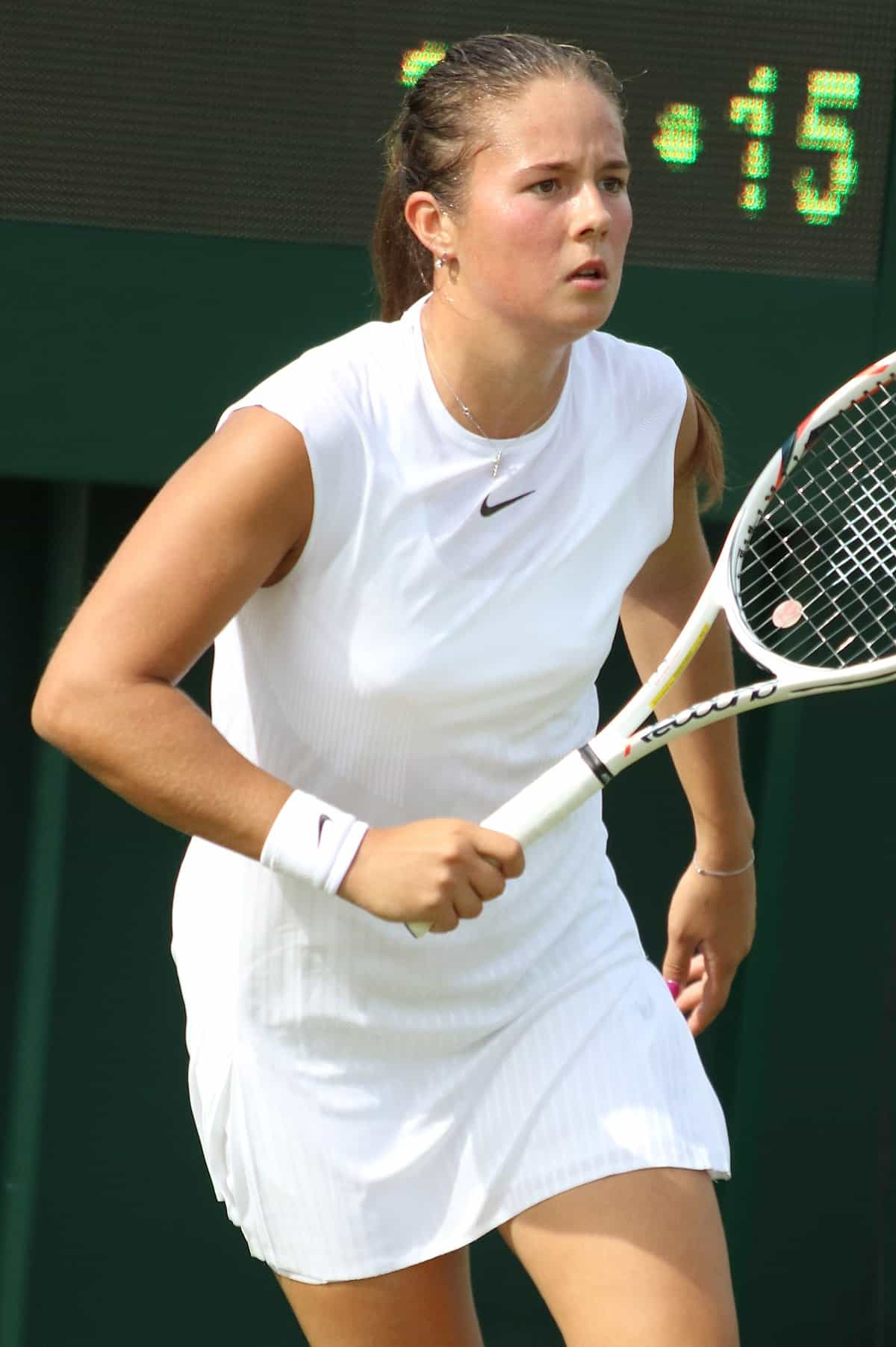 Women's Tennis Champion Daria Kasatkina.