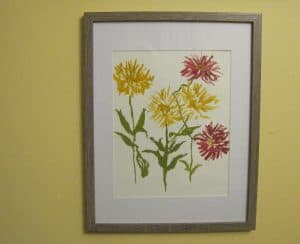 Deirdre chose to be known by one of her award winning watercolors.