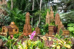 New York Botanical Garden's Midtown Manhattan display