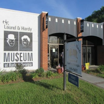 Laurel and Hardy Museum, Harlem, GA