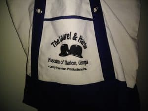 Souvenir Laurel and Hardy Tote.