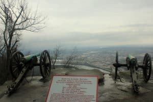 View from Lookout Mountain. Ruby Falls. Chattanooga, TN