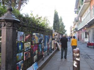 Buy Street art in New Orleans French Quarter.