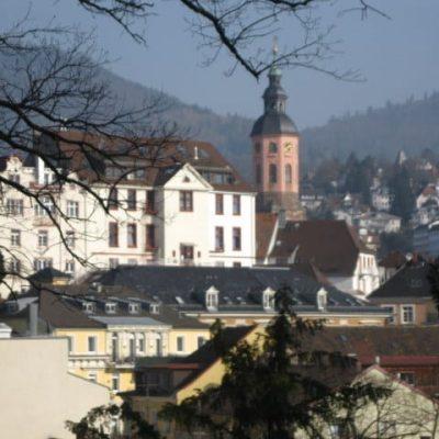 Overlooking Baden-Baden.