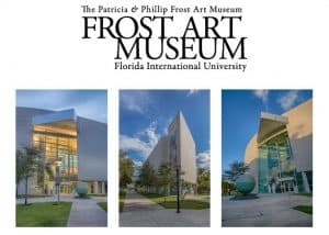 Outside the Frost Museum of Art, Miami