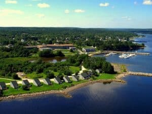 The luxurious Atlantica Oak Island Resort in Nova Scotia,