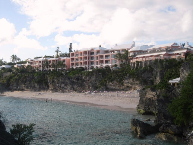 Brmuda's historic Reef's Club and Resort.