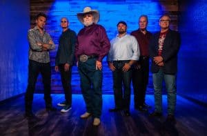 1700 fans crwd the Roanoke Rapids theater to see Charlie Daniels Band.