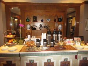 A bountiful breakfast buffet awaits all guests