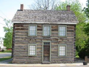 Historic Davis House in Romney, WVA