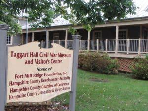 Taggart Hall Civil War Museum, Romney WVA