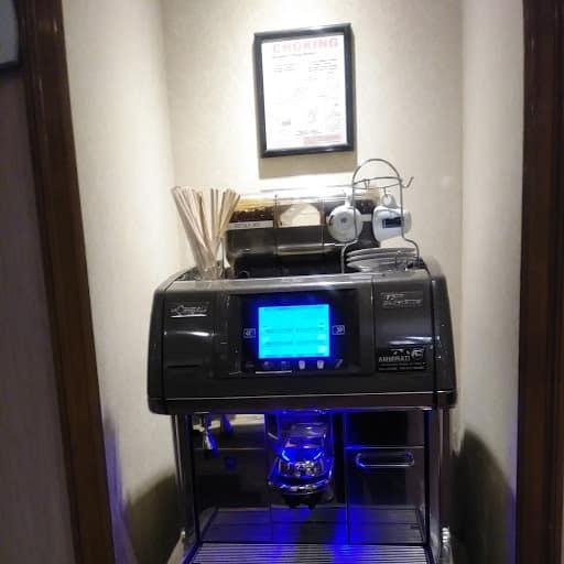 Espresso Machine at the Casablanca Hotel