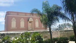 The historic Nidhe synagogue on Barbados.