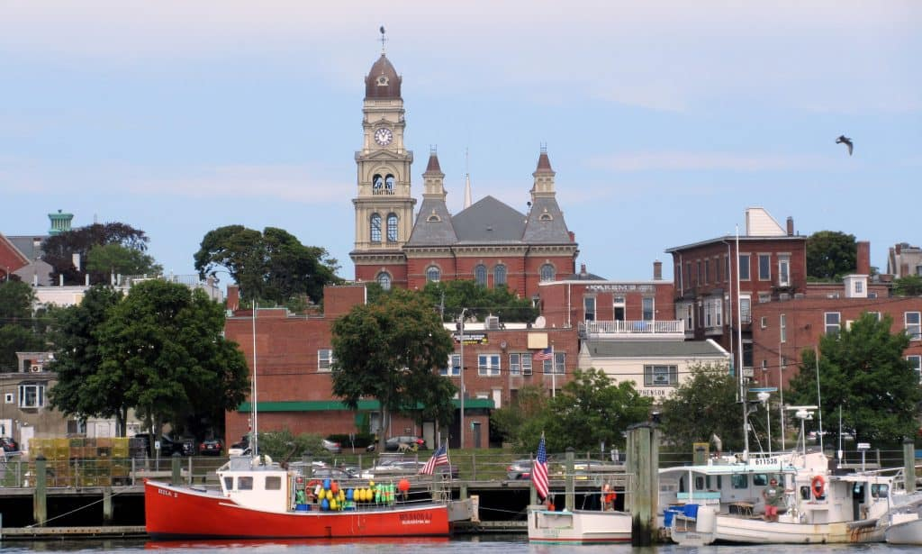 Gloucester harborfront