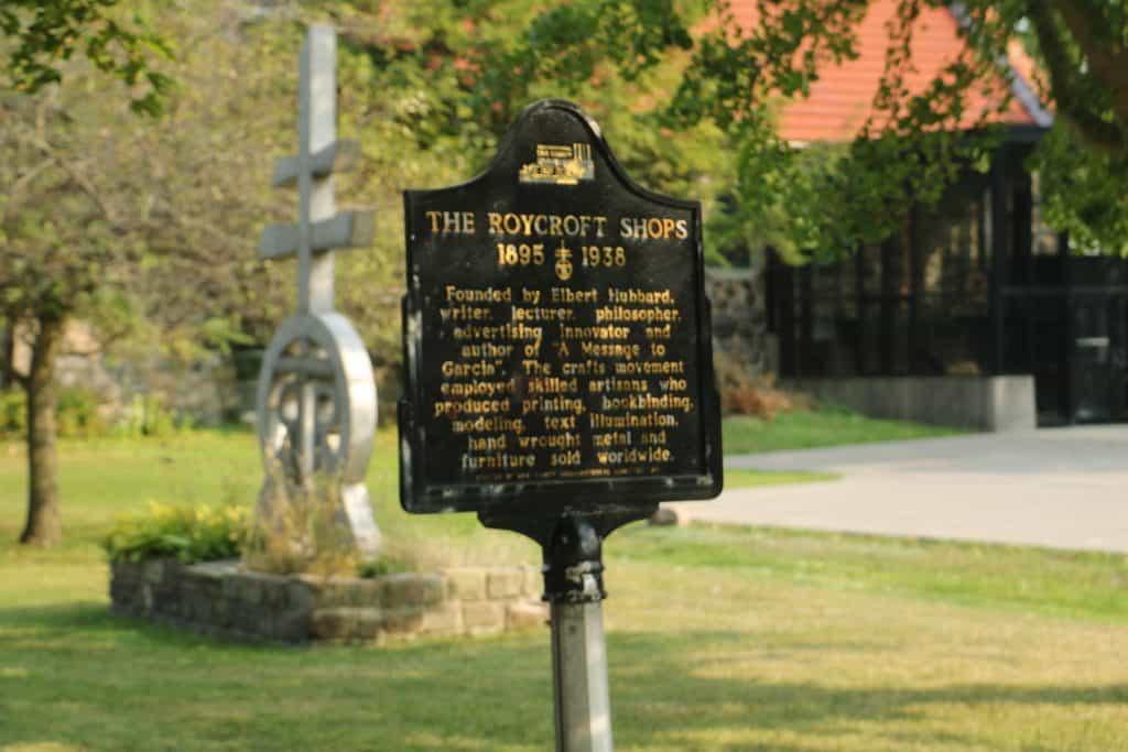 Roycroft a National Historic Landmark.