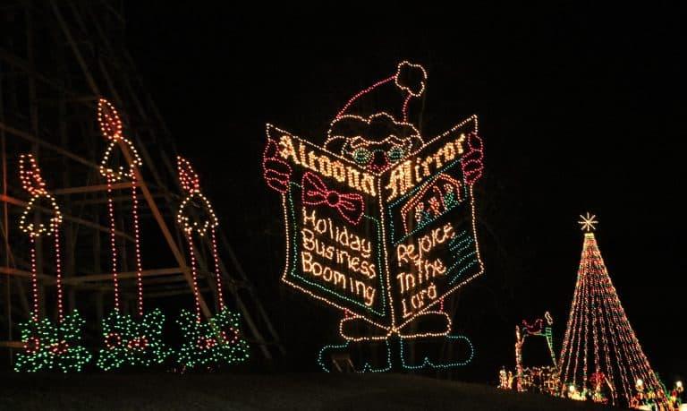 Holiday Lights on the Lake