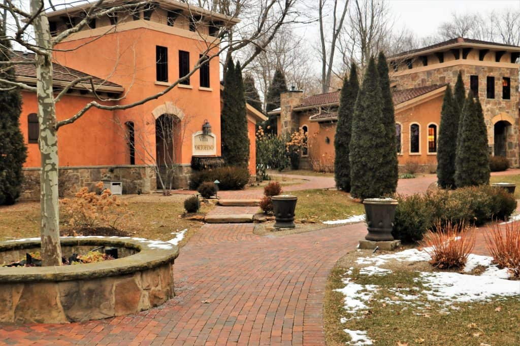 Outside the Villas at Gervasi Resort and Winery.
