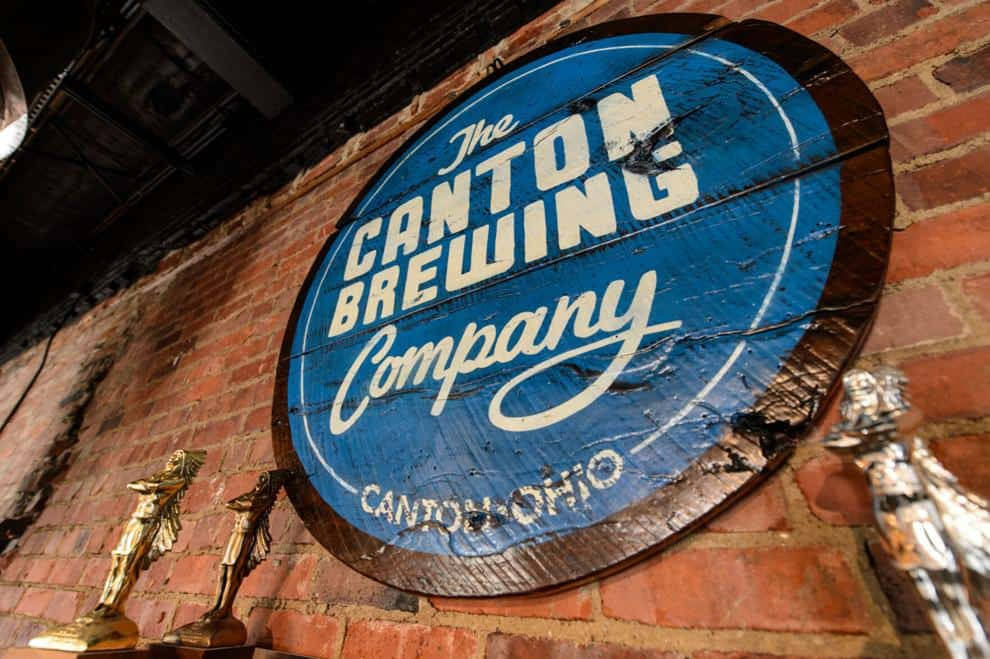 Canton Brewing Sign photo by Joseph