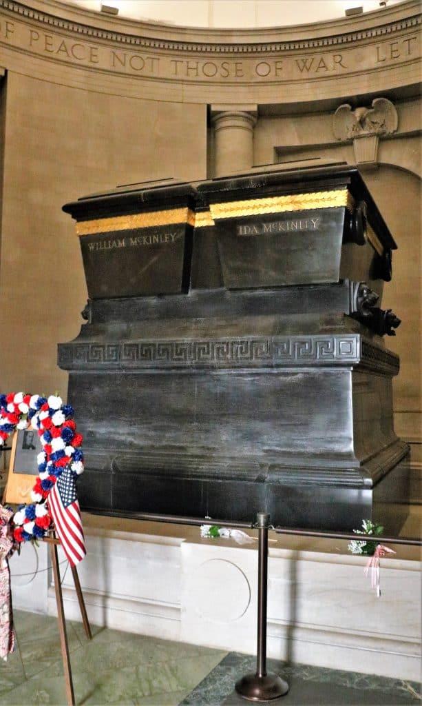 The McKinley Sarcophagus.