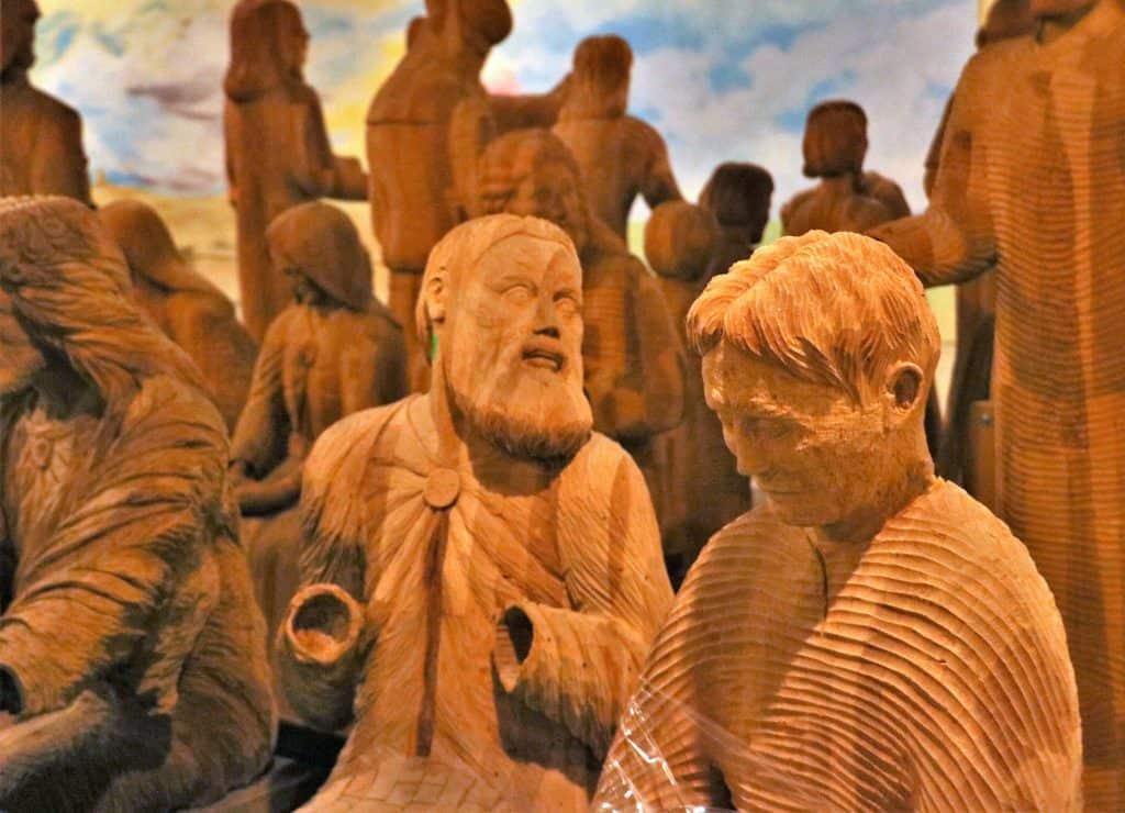 Wood Carver Joseph Barta